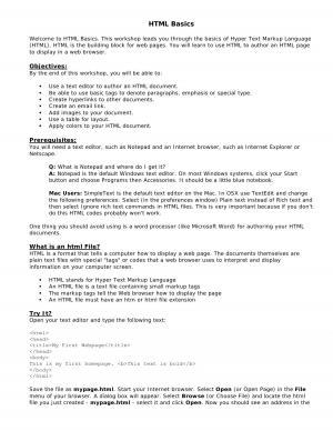 HTML_Basics
