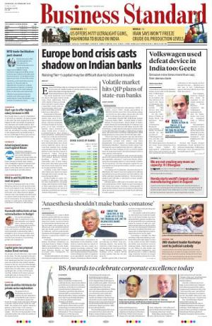 Business Standard - Mumbai - Read on ipad, iphone, smart phone and tablets.