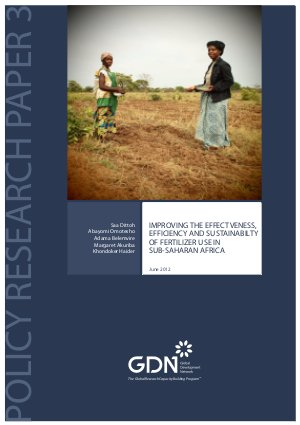 Improving the effectiveness, efficiency and sustainability of fertilizer use in Sub-Saharan Africa