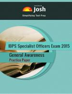 IBPS Specialist Officers Exam 2015: General Awareness: Practice Paper-Online Test eBook - Read on ipad, iphone, smart phone and tablets