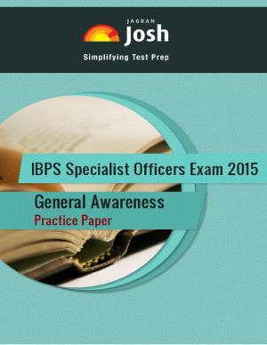 IBPS Specialist Officers Exam 2015: General Awareness: Practice Paper-Online Test eBook