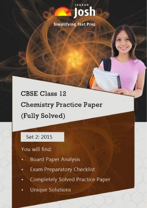 CBSE Class 12th Solved Chemistry Practice Paper 2015 Set-2