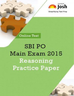 SBI PO Main Exam 2015: Reasoning: Practice Paper - eBook