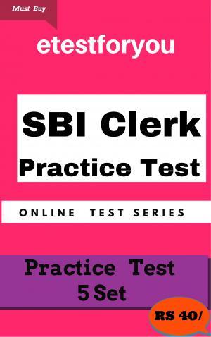 SBI Clerk Practice 5 sets