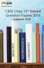 CBSE Class 12th Solved Question Papers PCB - eBook - Read on ipad, iphone, smart phone and tablets