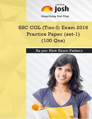 SSC CGL (Tier-I) Exam 2016: Practice Paper (Set-1) eBook - Read on ipad, iphone, smart phone and tablets.