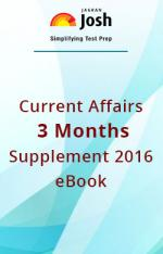 Current Affairs 3 Months Supplement – 2016 eBook - Read on ipad, iphone, smart phone and tablets