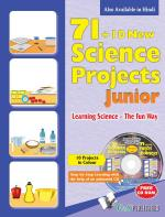 71+10 NEW SCIENCE PROJECT JUNIOR (WITH CD) - Read on ipad, iphone, smart phone and tablets