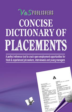 CONCISE DICTIONARY OF PLACEMENTS