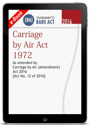 Carriage by Air Act 1972