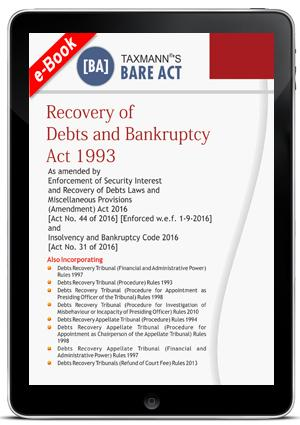 Recovery of Debts and Bankruptcy Act 1993