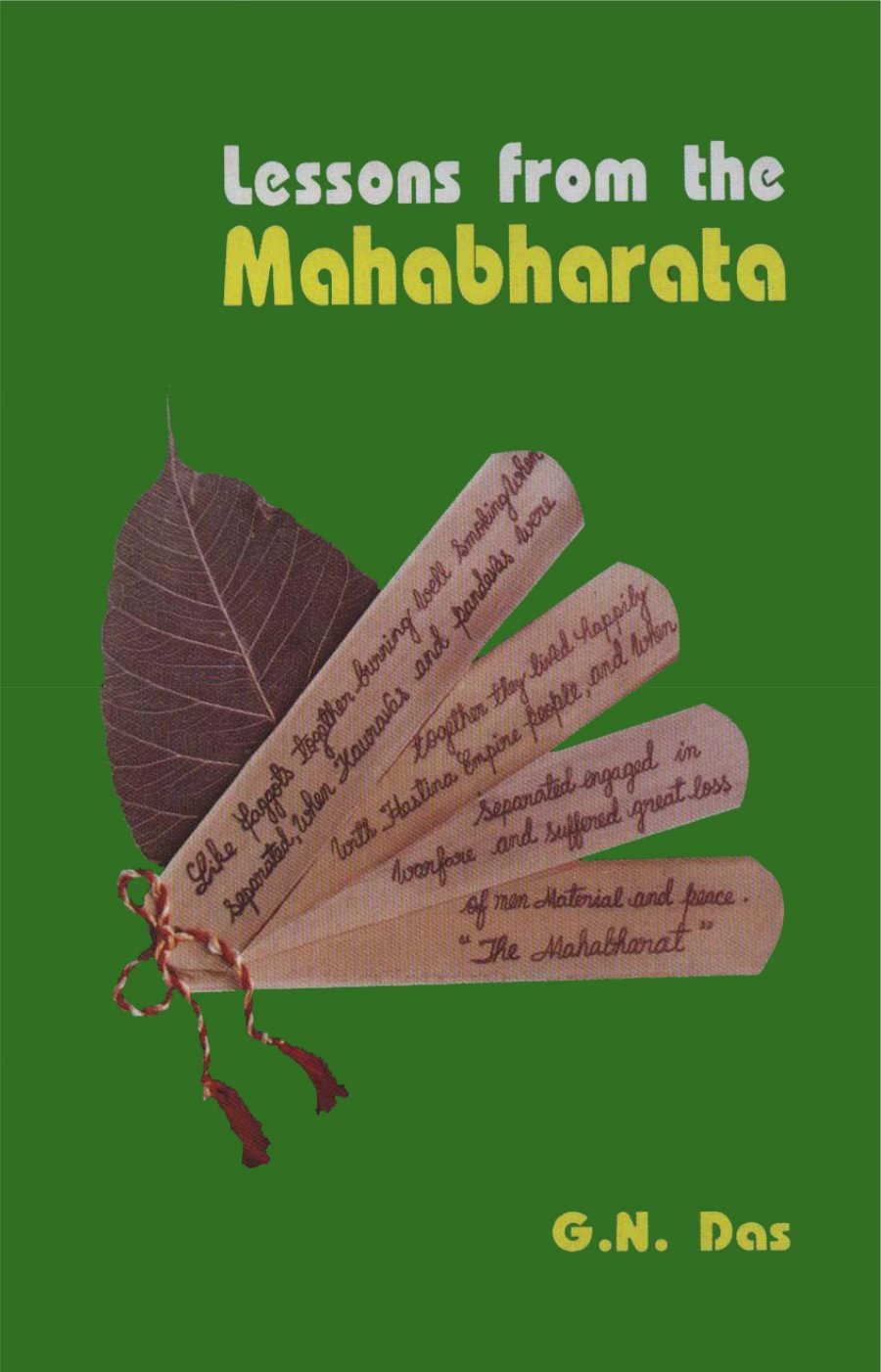 Lessons From the Mahabharata - Read on ipad, iphone, smart phone and tablets.