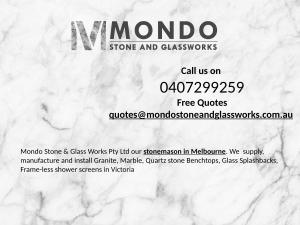 Stone And Glassworks supplies