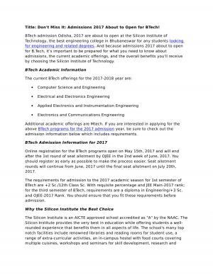 BTech MTech MCA Programs