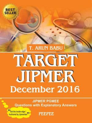 Target Jipmer December 2016