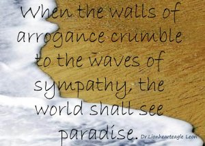 Ride on waves of sympathy