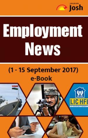 Employment News (1 - 15 September 2017) e-Book