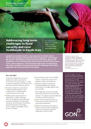 Food Security - Read on ipad, iphone, smart phone and tablets.