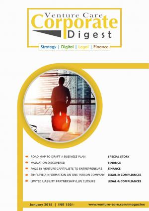Corporate Digest Magazine- January/2018