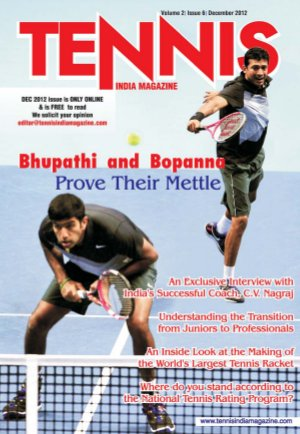 Tennis India Magazine - Read on ipad, iphone, smart phone and tablets.