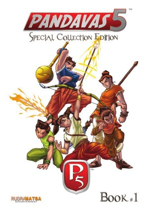 Pandavas 5 -P5 - Read on ipad, iphone, smart phone and tablets.