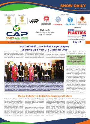 Modern Plastics India Show Daily