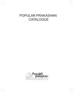 Popular Prakashan Catalogue 2013