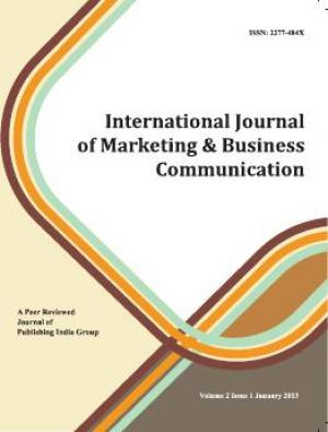 International Journal of Marketing and Business COmmunication - Read on ipad, iphone, smart phone and tablets.