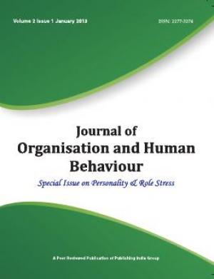 Journal of Organization and Human Behaviour