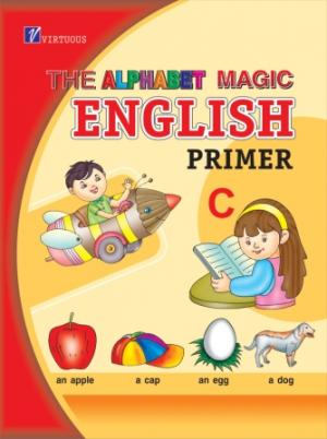 The Alphabet Magic...English Primer  C - Read on ipad, iphone, smart phone and tablets.