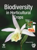 Biodiversity in  HORTICULTURAL CROPS  — Volume 4 - Read on ipad, iphone, smart phone and tablets