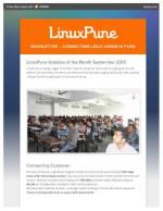 LinuxPune NewsLetter September - Read on ipad, iphone, smart phone and tablets