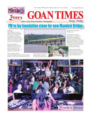 GOAN TIMES - Read on ipad, iphone, smart phone and tablets.