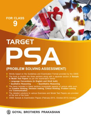 Target PSA (Problem Solving Assessment) - Read on ipad, iphone, smart phone and tablets.