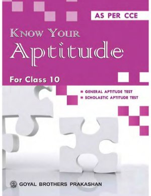 Know your aptitude Book 10 - Read on ipad, iphone, smart phone and tablets.