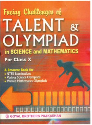 Facing Challenges of Talent & Olympiad for in Science & Mathematics - Read on ipad, iphone, smart phone and tablets.