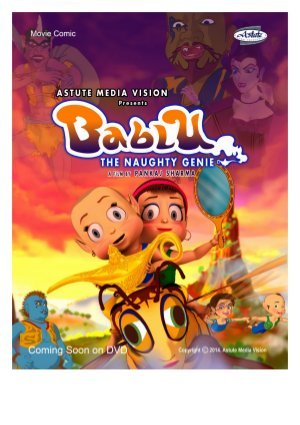 Bablu The Naughty Genie - Read on ipad, iphone, smart phone and tablets.