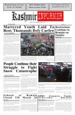 Kashmir Informer - Read on ipad, iphone, smart phone and tablets.