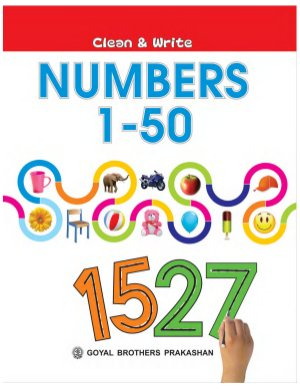 Clean and write numbers 1-50 - Read on ipad, iphone, smart phone and tablets.