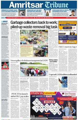 Amritsar Tribune - Read on ipad, iphone, smart phone and tablets.
