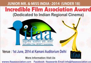 IFAA Awards & Junior Mr. & Miss  India 2014