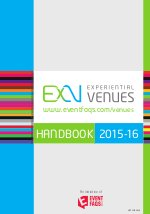 Experiential Venues ( ExV ) - Read on ipad, iphone, smart phone and tablets