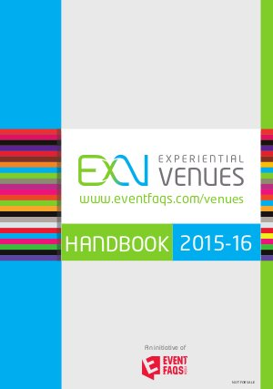 Experiential Venues ( ExV ) - Read on ipad, iphone, smart phone and tablets.
