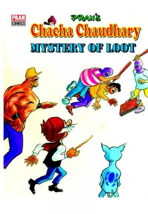 Chacha Chaudhary and Mystry of Loot - Read on ipad, iphone, smart phone and tablets.