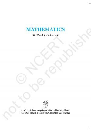 Mathematics - For class IX