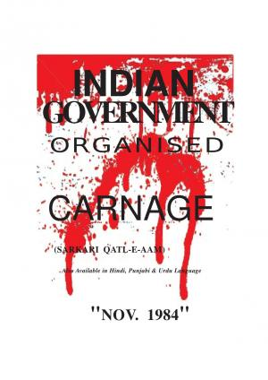 Indian Government Organised Carnage
