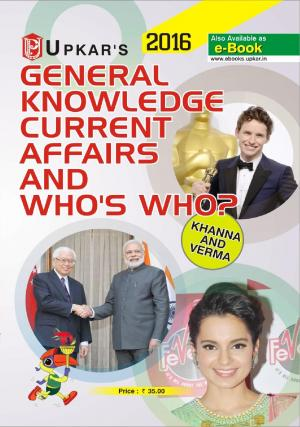 General Knowledge Current Affairs And Who's Who? - Read on ipad, iphone, smart phone and tablets.