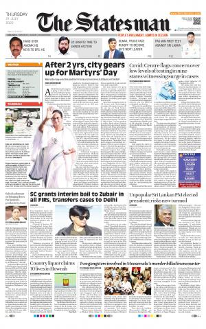 Kolkata - The Statesman - Read on ipad, iphone, smart phone and tablets.